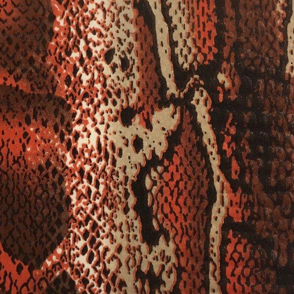Snake Skin - Orange