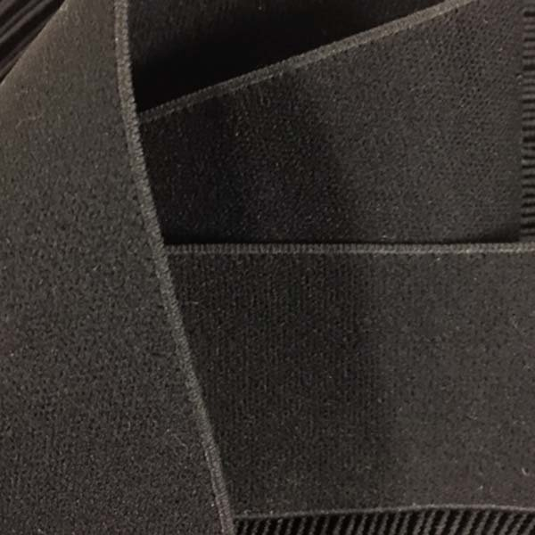 1 1/2 inch - Jacquard Elastic - Black