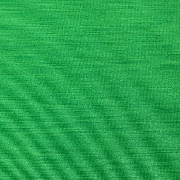 Jersey Wicking Spandex - Green Striation