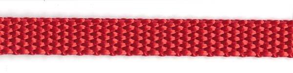 Heavy Nylon Web - 3/8 inch - Red