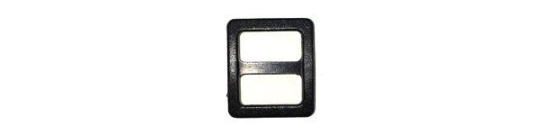 Wide-Mouth Triglide - 3/8 inch - Black