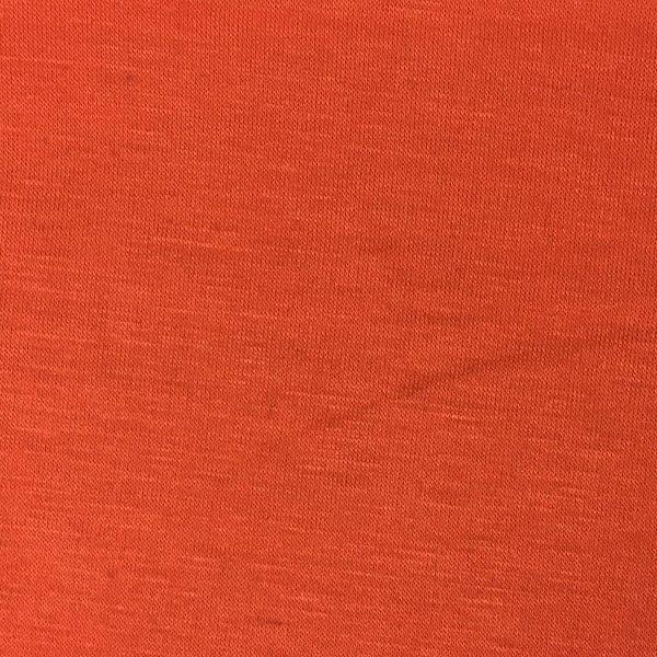 Rayon Lycra Jersey - Orange