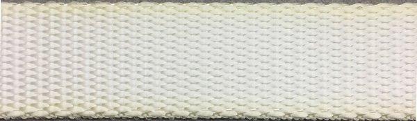 Heavy Nylon Web - 1 inch - White