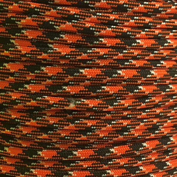 5/32 inch - Nylon ParaCord - Orange You Happy