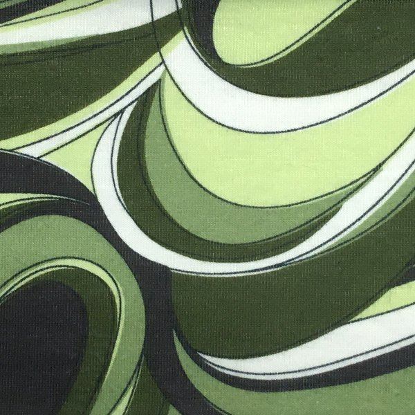 Swirl Wicking - Green