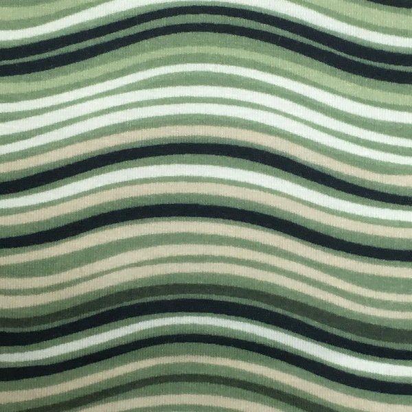 Ribbons Wicking - Green