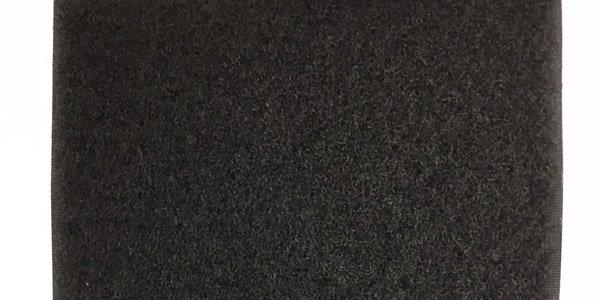 6 inch - Fire Retardant Loop - Black