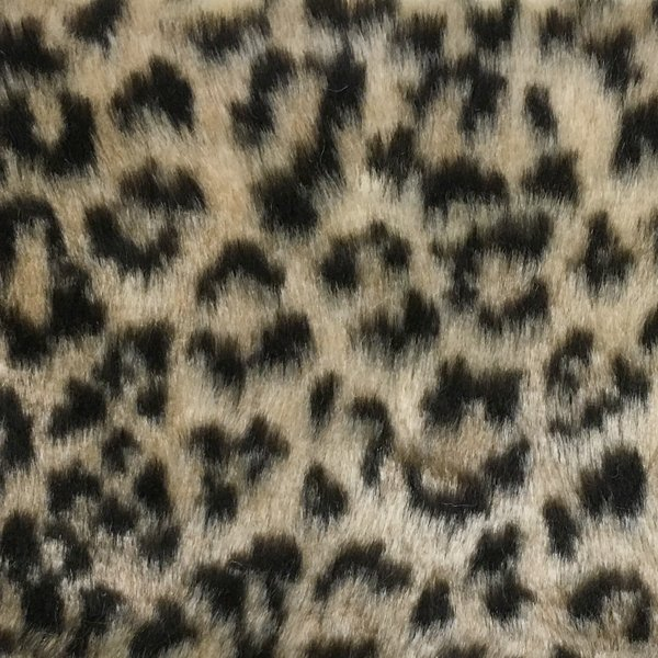 Leopard Fur - Beige Brown