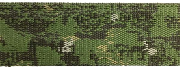 PenCott jacquard Web - 1 1/2 inch - Green Zone