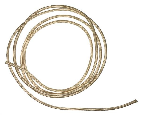 1/16 inch - Round Polyester Cord - Sand