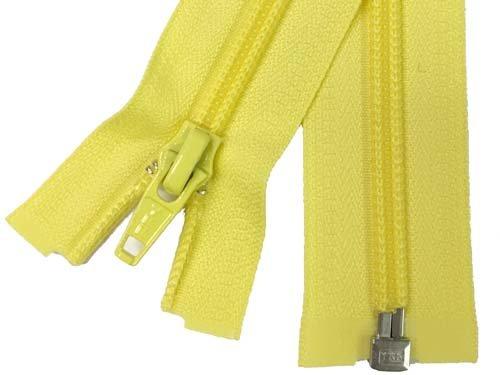 YKK #5 Coil 1-Way Separating Zipper - 30 inch - Yellow