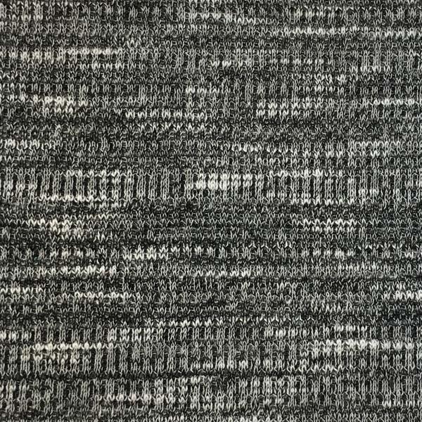 Thermal Knit - Black & White Marled