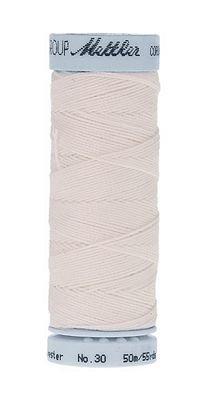 Mettler Cordonnet Top-Stitching - White - 9146-2000
