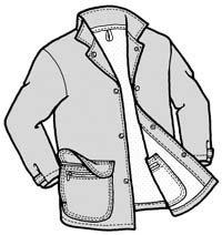 GP537 -  French Glen Barn Jacket