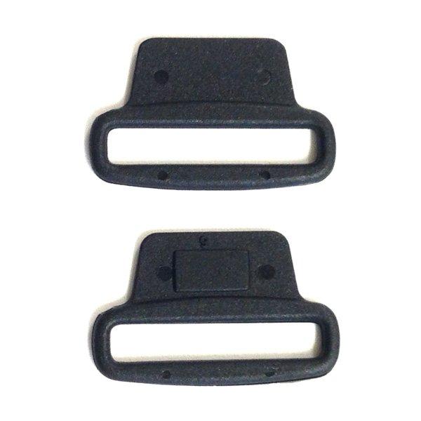 Sew on Loop Lock - 1 inch - Black