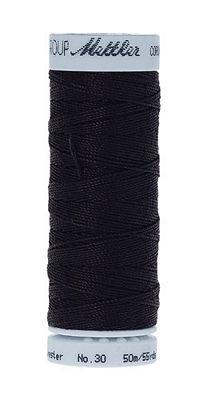 Mettler Cordonnet Top-Stitching - Darkest Blue - 9146-0821