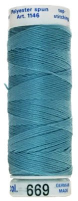 Mettler Cordonnet Top-Stitching - Aqua Mist - 1146-669-disc