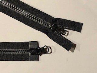 YKK #5 MT 2-Way Separating Zipper - 29 inch - Black