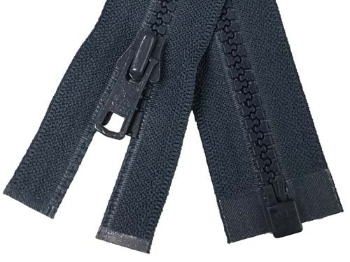 YKK #5 MT 1-Way Separating Zipper New Style - 24 Inch - Navy