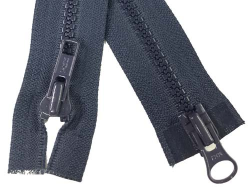YKK #5 MT 2-Way Separating Zipper New Style - 32 inch - Navy
