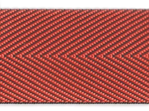 Herringbone Web - 2 inch - Orange
