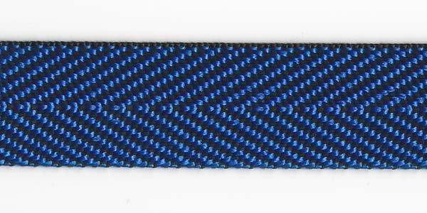 Herringbone Web - 1 inch - Royal