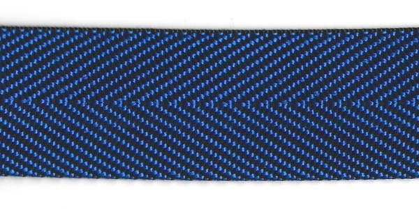 Herringbone Web - 1 1/2 inch - Royal