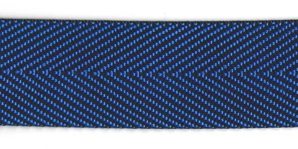 Herringbone Web - 1 1/2 inch - Royal