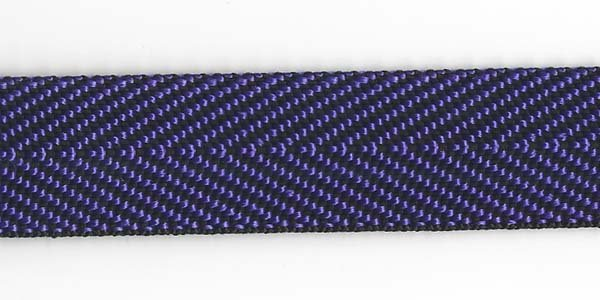 Herringbone Web - 1 inch - Purple