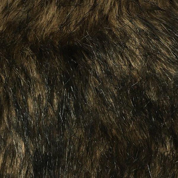 Faux Fur Wild Cat - Browns