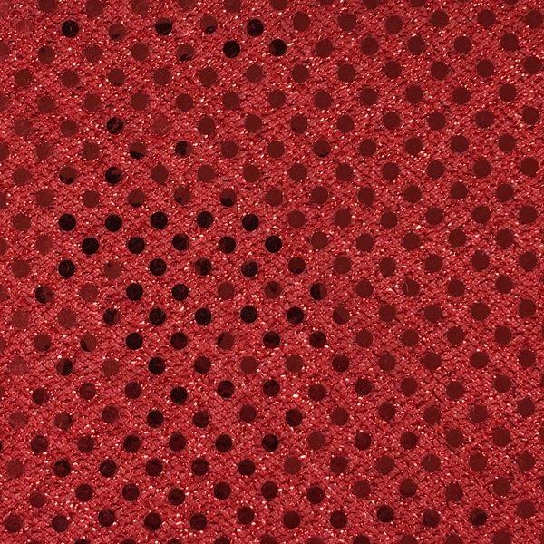 Dot Sequins - Red