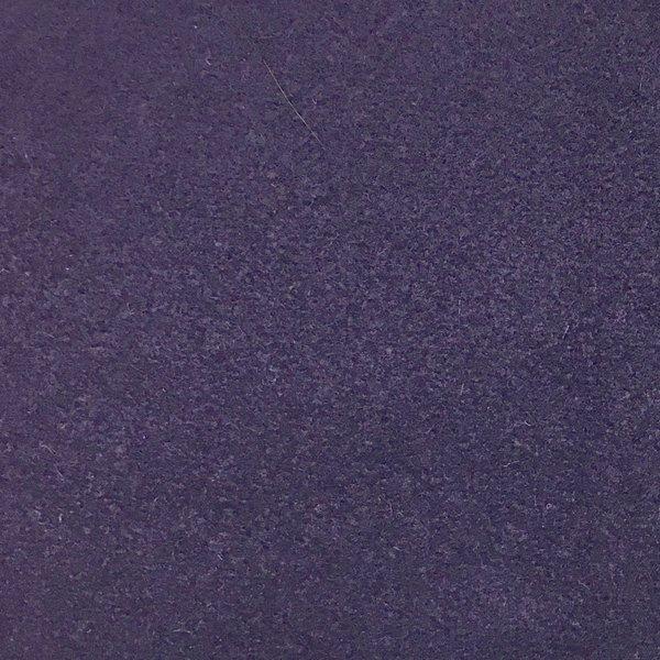 Wool Blend - Dark Purple