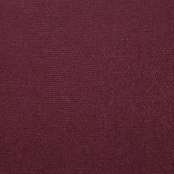 Wool Flannel - Burgundy
