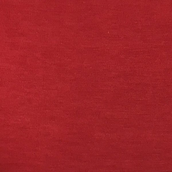 Bamboo Cotton Spandex - Red
