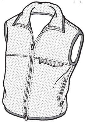 GP102 - Men's Santiam Reversible  Vest