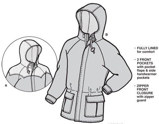 GP122 - Oregon Jacket - Adult