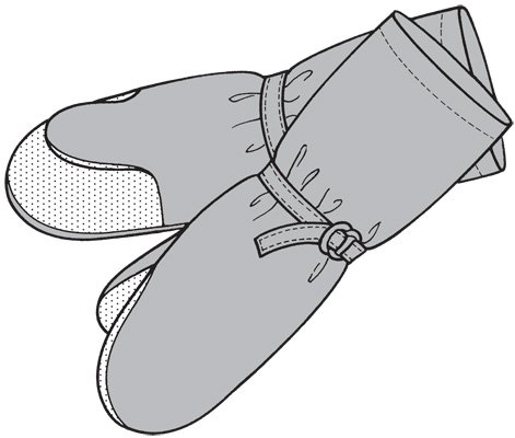 GP207 - Overmitts or Insulated Mitten - Adult