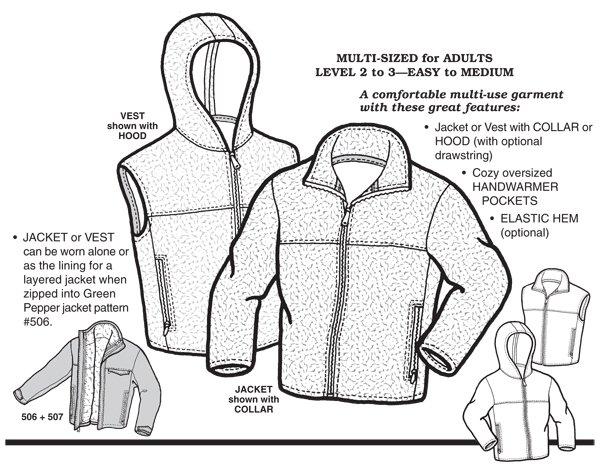 GP507 - Plush Polar Jacket & Vest