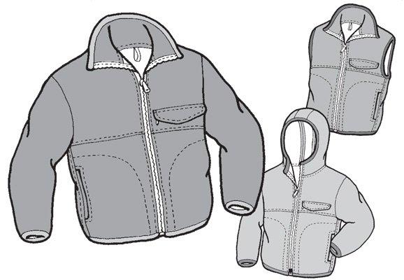 GP509 - Polar Jacket & Vest - Children