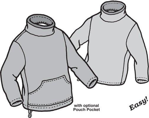 GP521 - Mock Turtle Polar Sweater - Children
