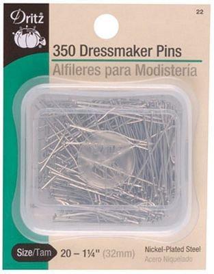 Dressmaker Pins 1-1/4