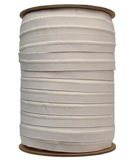 1 1/4 inch - Drawstring Elastic - White