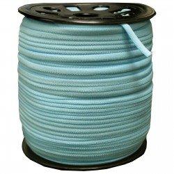 1/6 inch - Nylon Banded Elastic - Light Blue