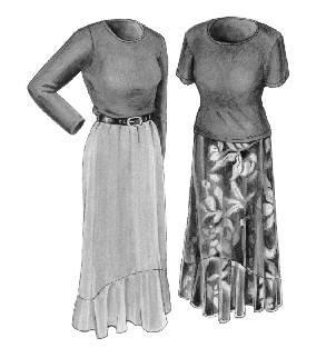 GC2120 - Last Tango Skirt & Top