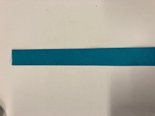 Polyester Grosgrain Ribbon - 5/8 inch - Turquoise