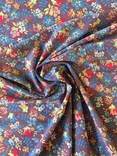 Polyester Spandex - Flower Bouquet