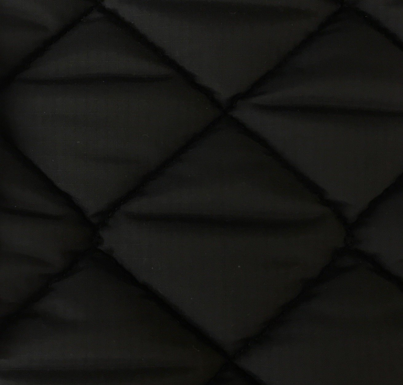 Cotton Quilted - Black