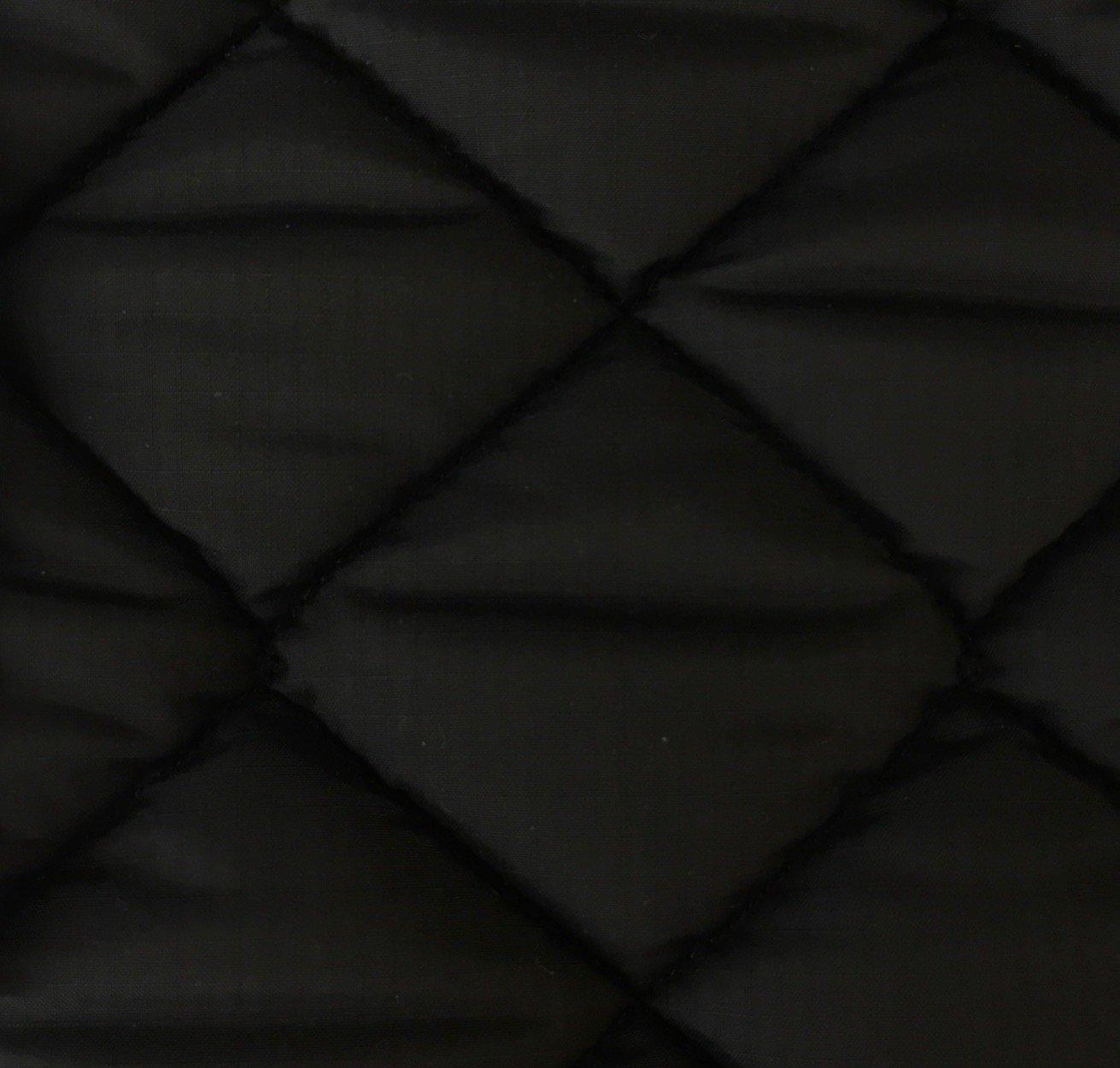 Diamond Quilt - Black