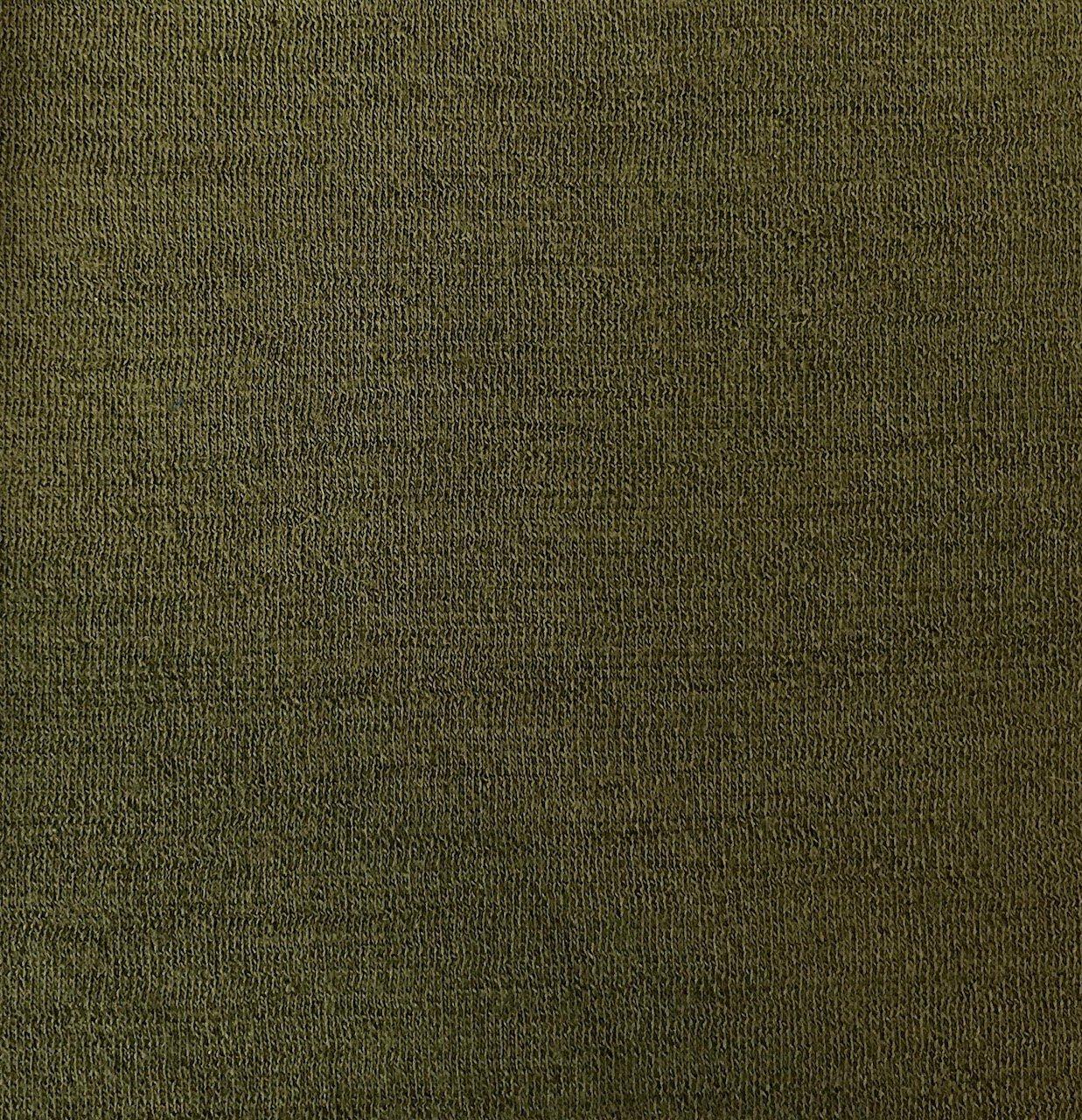 Merino Wool/Viscose - Olive
