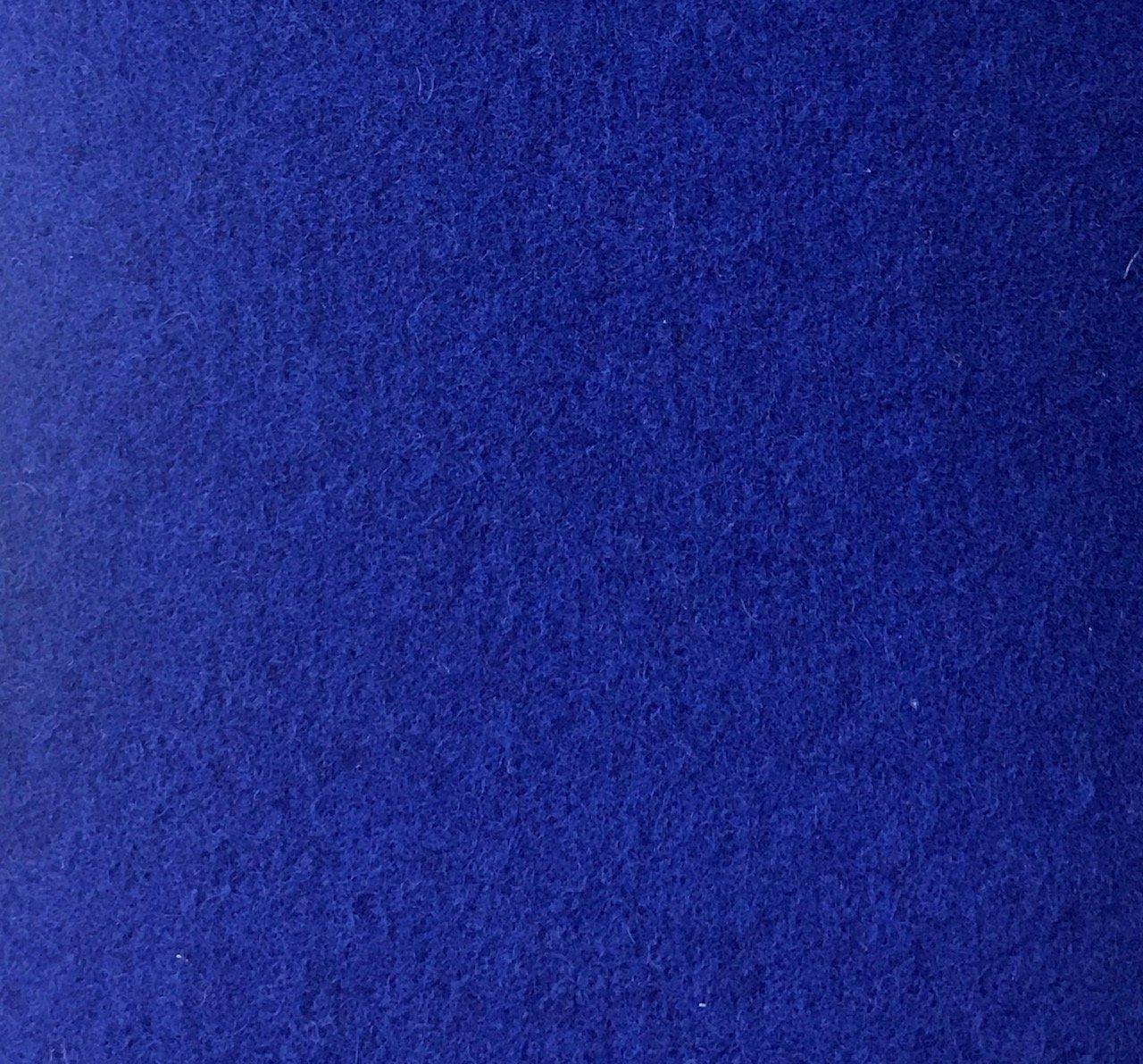 Wool Blend -  Royal Blue